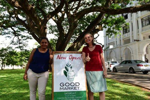 Good Market 的共同創辦人 Achala 和 Amanda